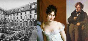 L'abbaye-aux-bois vers 1905, Juliette Récamier et Chateaubriand.