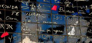 """""""je t'aime"""" en 192 langues."""