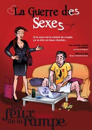 sortie en amoureux la guerre des sexes