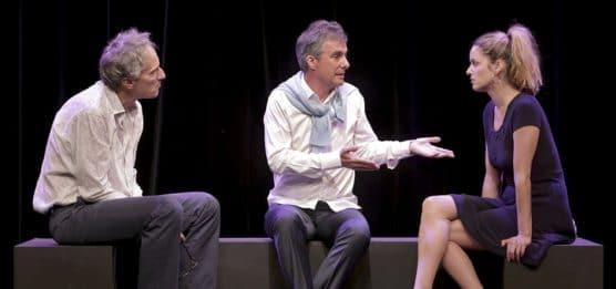 Psychothérapie de couple avec Guy Corneau et la particiâtion du public au théâtre de la gaité mont parnasse