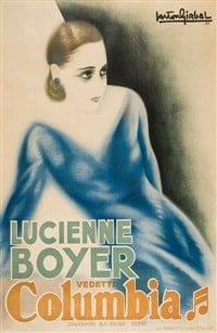 Parlez-moi d'amour, lucienne boyer, affiche de gaston girbal