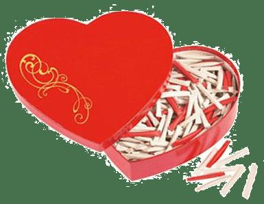 Shopping du couple pour noêl parle-moi d'amour. Coeur loveheart : 365 messages d'amour