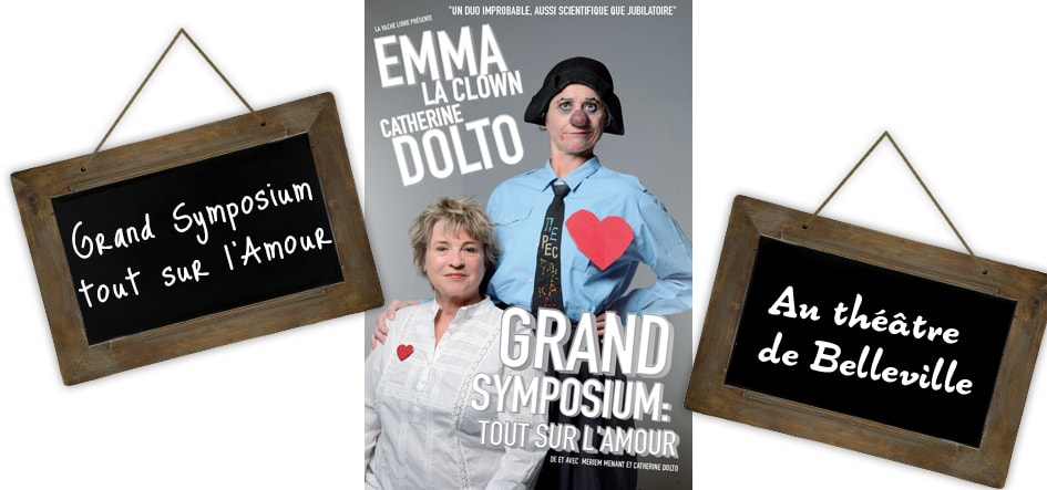 Catherine Dolto et Emma la clown, un duo d'amour