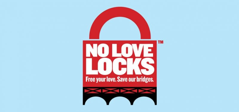 No love locks - logo - une