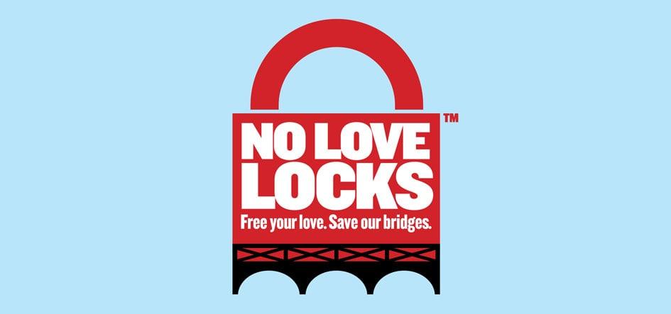 No love locks - logo - une