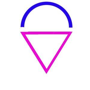 Le coeur symbole de l'amour - les principes masculin et féminin