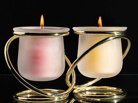 deux bougies dans la chambre Feng Shui